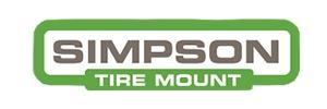 Simpson Tire Mount Logo
