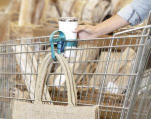 Toolaloo on a Grocery Cart