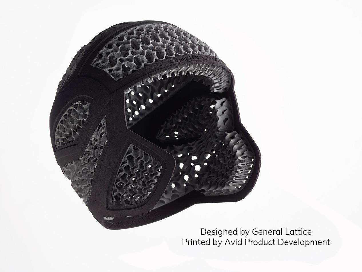 MJF General Lattice Helmet