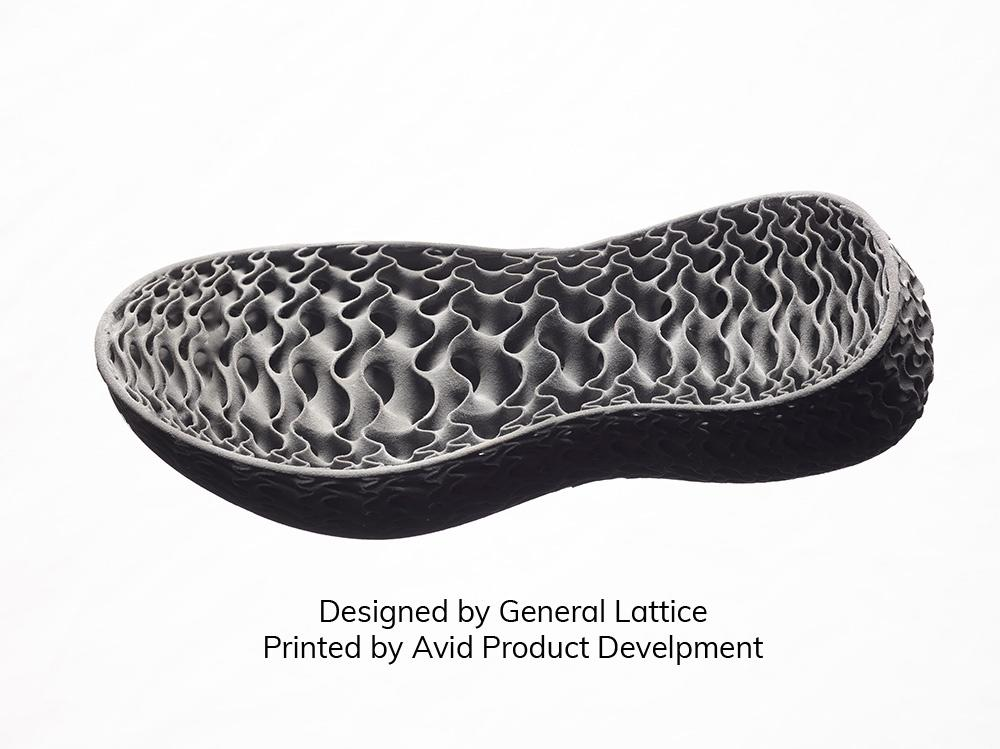 MJF TPU Midsole Designed by General Lattice